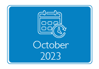 RIT-T icon - Calendar - October 2023